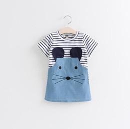 Wholesale Sheath Dress Kids - 2016 poke baby clothes Girls Dress cartoon Children Girls Clothing Princess Designer Kids Tracksuit Girls Fashion Kids clothing