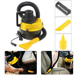 Aspirador de pó portátil on-line-Atacado-Likebuying Dc12V alta potência Wet and Dry portátil Handheld Car aspirador de pó carro Mini aspirador de pó