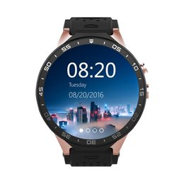 Wholesale Dhl Free Shipping Gps - DHL FREE SHIPPING KingWear KW88 3G WiFi Android 5.1 Smart Watch Bluetooth SmartWatch MTK6580 512MB 4GB GPS Google Play 2.0mp for Android iOS