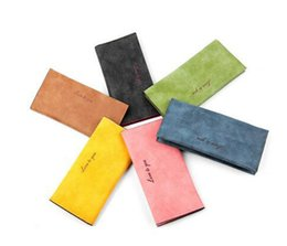 Wholesale womens long wallets - Womens Wallets Famous Brand Designer Coin Credit Card Holder Leather Luxury Wristlet Short Small Money Clip Wallet