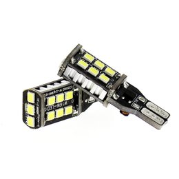 Wholesale W16w Led Bulb - New Canbus 7.5w T15 LED Reverse Light W16W 15SMD Car LED NO ERROR Back UP light rear Lamp white Car styling