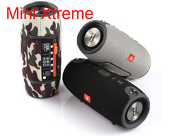 Wholesale Wholesale Portable Stereo - Mini Xtreme Bluetooth speakers Outdoor subwoofer waterproof with straps stereo portable MP3 player speaker Support USB TF FM