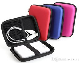 Wholesale External Hard Drive Wd - External Storage  Hard Drive Bags & Cases Convenient Blue Hard Carry Case Cover Pouch for USB External WD HDD Hard