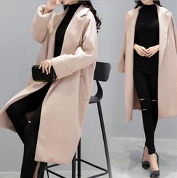 Wholesale Wool Overcoat Design Women - women wool coat,Plus Size,Eco-Friendly Feature and Adults Age Group women coat Overcoat Women's New Fashion Autumn Winter Designs Long Jacke