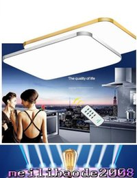 Wholesale Adjustable Ceiling Lamp - Adjustable Ceiling Light Square LED Ceiling Light Fashion Droplight Chandelier iPhone shape Ceiling Lamp multi size selection MYY