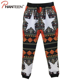 Wholesale Bohemian Pants Pattern - Wholesale-3D Print Cartoon Bohemian Star Man Pants Elastic Comfortable Homewear Swag Hiphop Street Casual Men Fashion Trousers 8 Colors