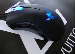 Wholesale High Death - New Razer Death Adder Mouse High Quality Gaming Mouse 3500DPI Optical Wired Mouse 1pc free shipping