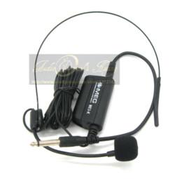 Wholesale Guitar Speaker Wiring - Professional Head Headset Microphone Condenser Mic For Voice Amplifier Speaker Guitar Saxophone Speech Musical Instruments Stage
