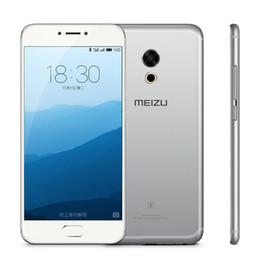 Wholesale Unlocked Cdma Smart Phone - Unlocked Original Meizu Pro 6s Pro6s 4G LTE Mobile Phone 4GB RAM 64GB ROM Helio X25 Deca Core 5.2inch 3D Press 12.0MP Fingerprint Cell Phone