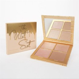 Wholesale Wet Satin - kylie jenner Bronzers & Highlighters kylie the wet set palette 4 colors highlight palette kyshadow Eye Shadow