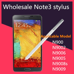 Wholesale Galaxy Note Pen Wholesale - original Galaxy Note S Pen Stylus for 3 Samsung Note3 note iii N9000 n9005 s pen capacitive stylus handwriting