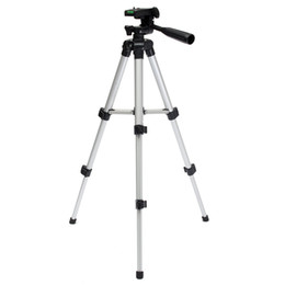 Wholesale Tripod Stand Lamps - Wholesale-High Quality Portable Aluminum Flexible Tripod Mount For Digital Camera Camcorder Tripods Travel Fishing Lamp Stand Holder