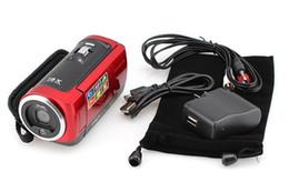 "Wholesale Digital Camera 16mp Hd - Free shipping 16MP Waterproof Digital Camera 16X Digital Zoom Shockproof 2.7"" SD Camera Red Black HD-C6"