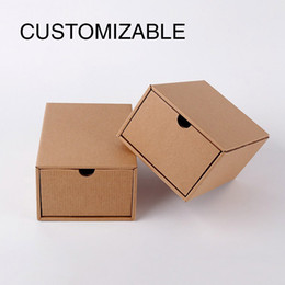 Wholesale Drawer Gift Box - Customizable Packing Boxes, Drawer type carton Packing Boxes, Corrugated box, Packing Boxes For Wedding Birthday
