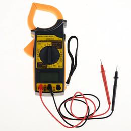Wholesale Mini Digital Ammeter - Wholesale-Clamp Multimeter High Quality Mini Digital LCD Voltmeter Ammeter Ohmmeter Volt Tester VEJ62 T29