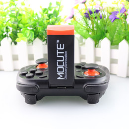 Wholesale Joystick Control Pc - MOCUTE Gamepad Android Joystick Bluetooth Controller Selfie Remote Control Shutter Gamepad for iPhone Andriod for PC Smart Phone