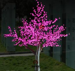 Wholesale Led Light Blubs - DCreative LED tree light Chritsmas cherry tree light 68W 88W 1152LED 1536LED blubs Tree Light Party Garden Decor Light AC110V-240V