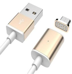Wholesale New Cables - NEW Hot Intelligent Magnetic Cable TPE universal v8 Micro usb cable sync cord Charging Cable line for Android mobiles