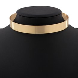 Wholesale Necklace Female Collar - Europe and The United States The New Exaggerated Fashion Punk Metal Collar Individuality Tide Female Collar Necklace