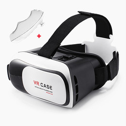 "Wholesale Glasses Virtual Games - VR Box 3D Virtual Reality Headset 3D Video Movie Game Glasses for 4.7""-6"" IOS Android Smartphones iPhone 6 6 Plus Samsung Galaxy S6 Edge"