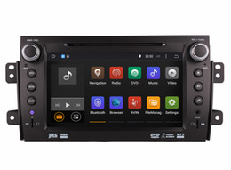 Wholesale Build Suzuki - Android 7.1 Car DVD Player GPS Navigation for Suzuki SX4 2006-2012 with Radio BT USB AUX Audio Video Stereo WIFI 1024*600