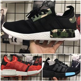 Wholesale Apple Men - 2017 Hot Sale NMD R1 NYC RED APPLE Mens Running Shoes Fashion Running Sneakers for Men and Women mastermind japan MMJ Eur 36-44
