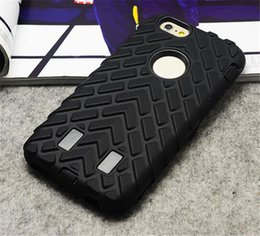 Wholesale Oem Phone Accessories - OEM mobile phone accessory Heavy Duty Tire armor case for iPhone 6 6s cell phone cover case