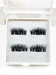 Wholesale Natural Eyelash Glue - Free Shipping Premuim Quality Reuseful 3D Magnetic False Eyelashes Glue Free Handmade Natural Extension Eye Lashes Makeup lightweight