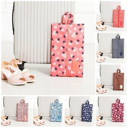 Wholesale Travel Shoe Storage Pouches - Anti Bacterial Handbags Multi Function Safe Storage Shoe Bags Dust Proof Easy To Carry Travel Season Pouch Fashion 3 8qn B R