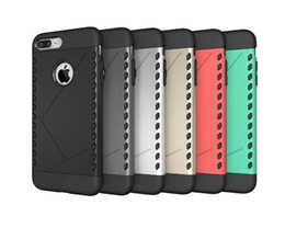 Wholesale Armor Shield - Hybrid 2 in 1 Heavy Duty Shield Armor Shockproof Protective Case For iPhone 6 6s plus Samsung s7 s6 edge plus Note 5