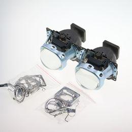 Wholesale D3s Hid - Free Shipping 3.0 HID Bi-xenon Projector Lens Koito Q5 Square Headlight Use D1S D2S D2H D3S D4S Xenon Lamp