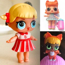 Wholesale Cheap Collectible Toys - Cheap!! Perfume Barbies 8 Styles LOL Surprise Dolls Multi-funtion like Tearing Spray Water PVC Pop Figures Gifts for Kids