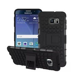 Wholesale Galaxy S4 Shockproof Case Kickstand - Heavy Duty Rugged Dual Layer 2in1 Shockproof Cover Case with Kickstand for Samsung galaxy S4 S5 S6 edge note3 note4 note5 A5 A7 A8 (black)