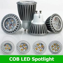 Wholesale E27 Led Bulb Corn 4w - Bright CREE GU10 E27 MR16 4W 5W 6W 8W LED COB Spotlight Bulb Lamp Warm Day White corn lamp Indoor outdoor led lighting