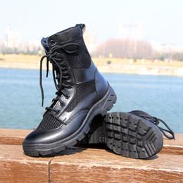 Открытый армейские сапоги мужская пустыня тактические загрузки обувь с чистой дышащей боевой туризм тактика Botas от