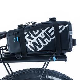 Wholesale Back Bike Pannier - ROSWHEEL 5L Bicycle Carrier Bag Rack Trunk Bike Luggage Back Seat Pannier Outdoor Cycling Storage Handbag Shoulder Strip