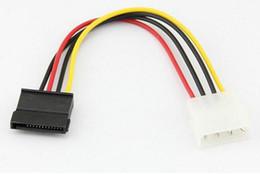 nouveau disque dur ide Promotion Nouvelle arrivée Serial ATA SATA 4 broches IDE Molex à 15 broches HDD Câble d'alimentation adaptateur de disque dur