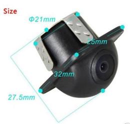 Wholesale 12v Night Vision Car Cameras - 170° Universal CMOS Reverse Backup Car DVD Rear View Night Vision Camera DC 12V