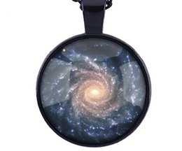 Wholesale Galaxy Cosmic - Cosmic Galaxy Galaxy Necklace Nebula jJewelry Orion Nebula pendant Nebula pendant for men art pendant glass cabochon necklace nebula galaxy