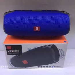 Wholesale Xtreme Bluetooth - Wholesale Mini Xtreme Bluetooth speakers Outdoor subwoofer waterproof with straps stereo portable MP3 player Support USB TF FM