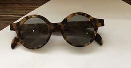 Gafas de sol redondas retro tortuga hombres Hip Hop Cool gafas de sol gafas de sol desinger nueva con caja desde fabricantes