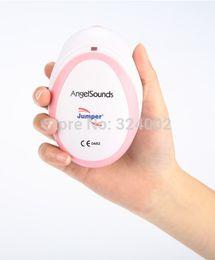 Wholesale Mini Doppler Fetal - Angel Sounds Mini Baby Heart Rate Monitor Fetal Doppler Ultrasound Prenatal Fetal Detector Portable CE FDA