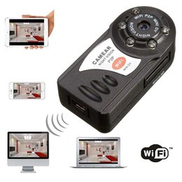 Wholesale Wifi Record - Wireless WiFi IP Camera P2P camera Portable camcorder Video Record Mini DV IP Portable Security camcorder Video Recorder mini DV