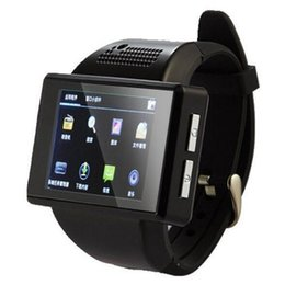Wholesale Spy Watches Support - 2016 New An1 Smart Watch Phone Quadband Android 4.1 MTK6515 Dual Core 512MB Smartwatch Support GPS WiFi Compass FM Bluetooth Spy Camera