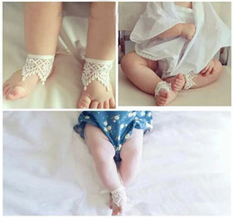 Wholesale Socks Child Decoration - INS Fashion new children socks baby girls lace socks kids Socks decoration leg children short socks A8529