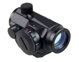 Wholesale Picatinny Green - Tactical Holographic Red Green Dot Sight Scope Project Picatinny Rail Mount 20mm free shipping