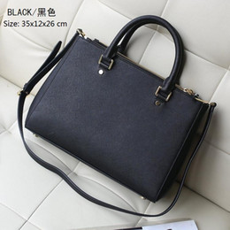 Wholesale Peaches Setting - Fashion Women M Bags Handbags PU Leather Famous K M Korse Jet Set Travel Saffiano Famous Brand Designer Tote Lady MICHAEL Female G Bag 725a