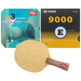 Wholesale Dhs Neo Rubber - HRT 2091 Table Tennis Blade With DHS NEO Hurricane3   Galaxy 9000E Rubber With Sponge for a Racket