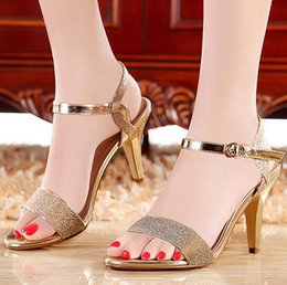Wholesale Discount Fashion Sandals - New Luxury women casual slippers sandals fashion high top discount zapatos footwear High Heel flip flop Slides sandals For sxey Ladies shoes