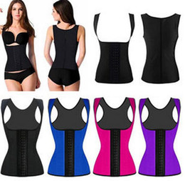 7580e0ff87 Sexy Latex Vest Corsets and Bustiers 2016 PLUS SIZE XS-6XL Hot Shapers  Waist Training Corset Top Ann Chery Waist Cincher Bodysuit Women